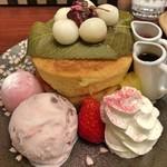 フライング・スコッツマン - さくらホットケーキ(アップ)