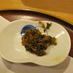 汁や - 高菜の油炒め