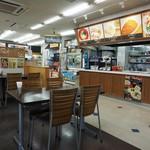 金立サービスエリア(上り線)スナックコーナー - 店内その1