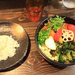 Rojiura Curry SAMURAI. - 1日分の野菜20品目