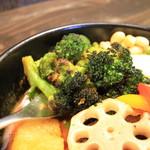 Rojiura Curry SAMURAI. - ブロッコリの食感は最高