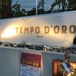 トラットリア テンポ ドーロ - お店外のサイン