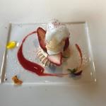 ラ ファミーユ モリナガ - 苺のフレジェ