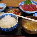 久六 - 2011/7 まぐろ刺・揚 定食