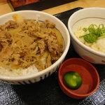 8519088 - 和風牛丼+小うどんすだち