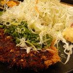 花ごろも - ねぎみそ麹かつ定食 1480円