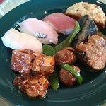 レストハウス - 空港ホテルバイキングの目玉お寿司