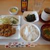 志づ - 料理写真:あじフライ定食¥972-