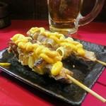 やまとや - マヨなんこつ串焼(2本)¥400