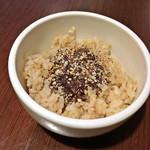 チャヤマクロビ - 玄米ご飯