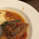 Bihotza - 仔羊肉のチリンドロンソース