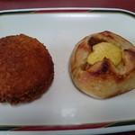 85195486 - 味付けタマゴ/豚の角煮