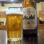 中華そば コヨシ - まずはビール