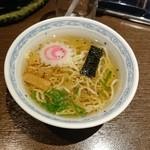 七味亭 - 締めのミニラーメン