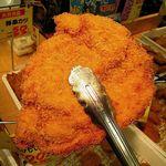 生鮮食品館サノヤ - チキンカツ158円