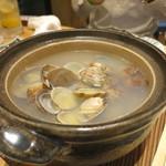 ○魚 - 酒蒸し