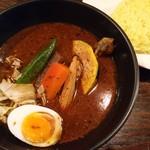 ドミニカ - チキン(黒スープ)(1000円)