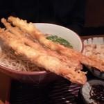 蕎麦処草八 - 料理写真:ごぼう 四本から三本に。