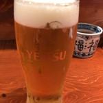 85204270 - 生ビールは恵比寿