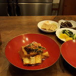 まいまい亭 - 料理写真:焼きあなごの鬼豆腐