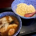 中華蕎麦 金魚 - ワンタンつけ蕎麦