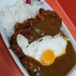味の大勝 - 料理写真:カツカレー 650円