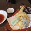 まつ屋 - 料理写真:「天ぷら盛合わせ」