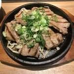 九州焼肉 てにをは - てにをはネギのせ牛タン定食