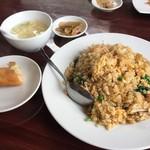 上海料理 寒舎 - 若鶏肉五目炒飯ランチセット