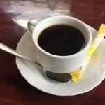 上海料理 寒舎 - ホットコーヒー