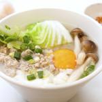 朝カオトム(タイの雑炊)