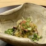 芝濱 - 蛸と茗荷