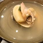 芝濱 - 蛤と筍