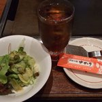 ゆかり - お好み焼ランチB-サラダとか