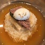 85210502 - 水冷麺定食900円