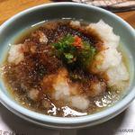 京町柿安本店 - 料理写真:おろしダレ