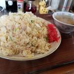 あけぼの八宝園 - 料理写真:五目チャーハン大盛(税込720+200円)