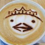 トリト カフェ - バリィさんラテ♪