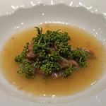 MASA'S KITCHEN - 和牛のサーロインと上湯スープ タップリの花山椒をのせて