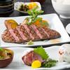 三國 - 料理写真:赤身の日替わりステーキコース