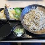 85214667 - 天そば 680円+麺大盛90円(180428)