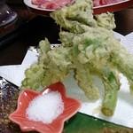 和風宿 岡部荘 - 山菜の天ぷら