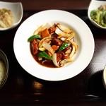 中国料理 桃の華 - 酢豚ランチ