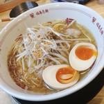 福島壱麺 - ホルモン塩そば