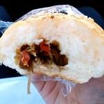 加藤パン - 料理写真:加藤製パン店@三戸 きんぴらパンの中身