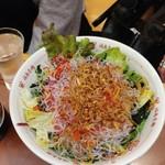 福島壱麺 - 海藻サラダ