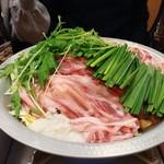 福島壱麺 - 豚醤油鍋
