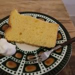 カフェ ブランコ - 料理写真:プレーンのシフォンケーキ