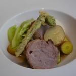 ザ フレンチ ブルー - メイン 米沢豚ほお肉の煮込み