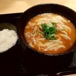 85220739 - カレーうどん定食(450g)